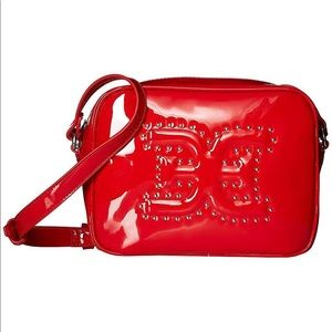 Sam Edelman Naya Crossbody Bag Red Patent